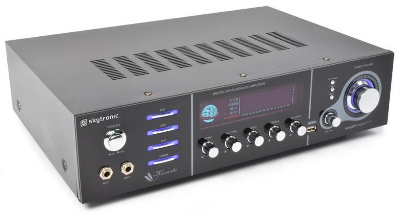 SKYTRONIC AV-320 Karaoke-Surround vahvis, discoland.fi