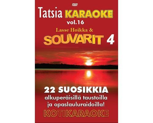TATSIA Kotikaraoke Vol 16 Souvarit 4 - D, discoland.fi