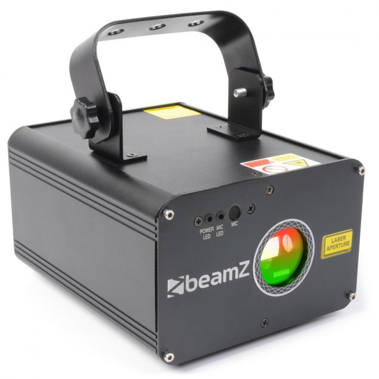 BEAMZ Oberon Laser valoefekti RGY DMX 22, discoland.fi