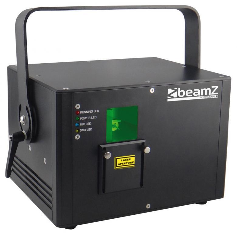 BEAMZ Neso 1,5W RGB Pro Laser valoefekti, discoland.fi