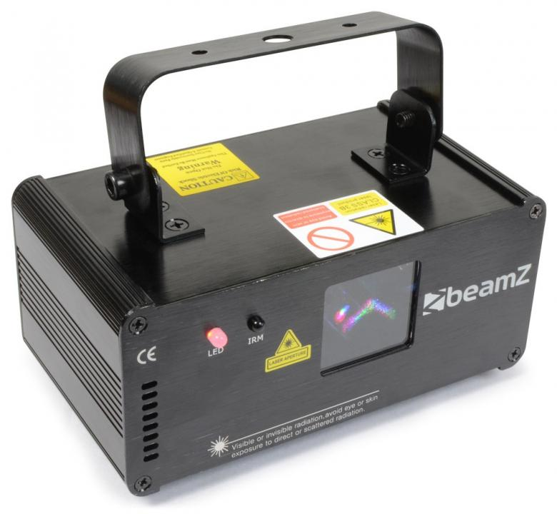BEAMZ 600mW DMX-ohjattava Galatea laser , discoland.fi