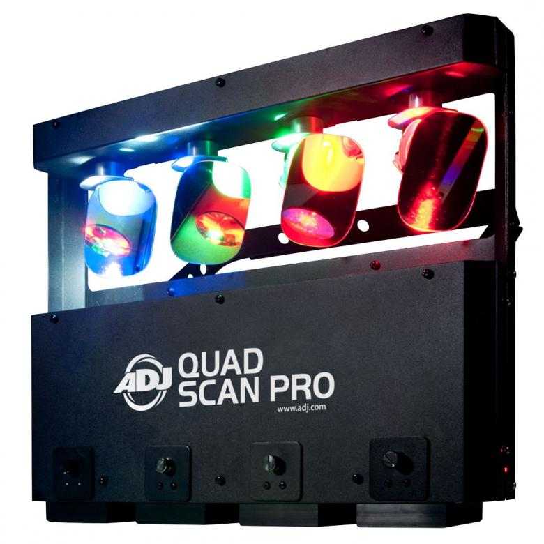 ADJ Quad Scan PRO Led scanneri 4x10W on , discoland.fi