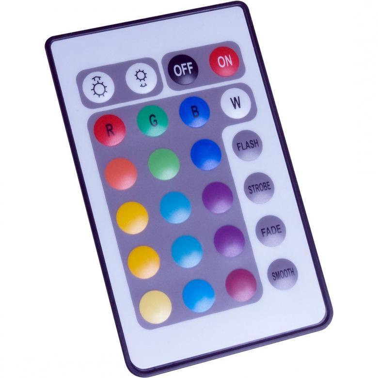 AMERICANDJ LED COLOR TUBE. Mene pidemmälle kuin vain koristele... tee juhlistasi ikimuistettavat! LED COLOR TUBE on jännittävä, kirkas, väriä vaihtava LED-valaisin joka käyttää erittäin vähän virtaa, ei luo lämpöä ja jonka LEDit kestävät 30,000 tuntia. 96 kirkasta LEDiä (32 punaista, 32 Vihreää, 32 Sinistä). Jokaisessa laitteessa mukana yksi helppokäyttöinen kauko-ohjain: Manuaalinen/automaattinen värien vaihto, Välkyntä, Sateenkaari, nopea tai hidas väristrobo, päälle/pois. Mukana verkkovirtalähde, kaksi seinäripustinta ja jalusta pystysuoraan asennukseen. Mitat (PxLxK): 1016x50x50mm Paino: 1kg