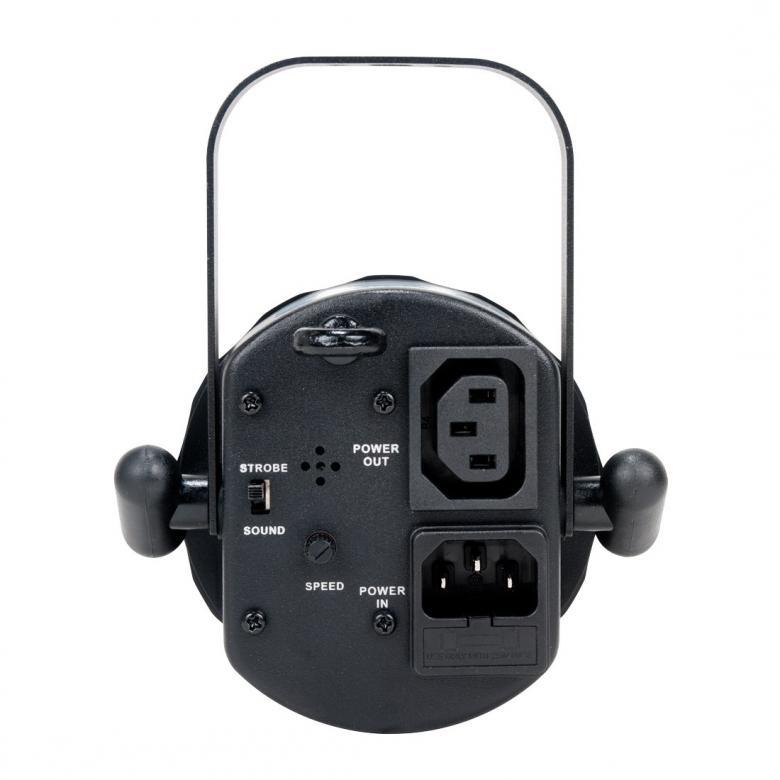 AMERICANDJ FX Beam - LED pinspot. ADJ:n FX Beam on pieni kapeakeilainen säde-efecti joka saa tehonsa 3W valkoisesta CREE LEDistä. Säde on kapea kolmen asteen avauskulmalla ja kun lamppuja käytetään useita luovat ne puhdasta valaisun hurmaa. FX Beam on täydellinen peilipalloille, juhlapöydille, kaupoille tai messuesittelijöille, kelle vaan joka tarvitsee pienen ja kirkkaan valon. Voidaan käyttää myös bileiden erikoisefektinä. 3 Asteen säteen avautumiskulma,  Ketjutettavissa: Virta IEC-liittimien kautta (MAX 126 laitetta), Mitat (PxLxK): 119 x 119 x 148mm,  Paino: 0.6 kg<br /><br /><br />