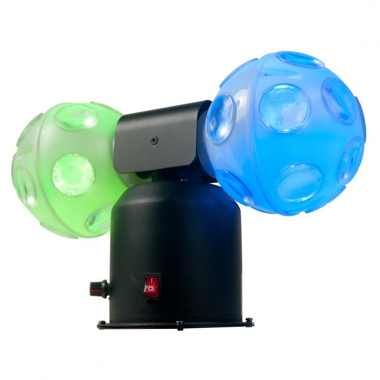ADJ Jelly Cosmos Ball 6x3W TRI LED-Tupla, discoland.fi