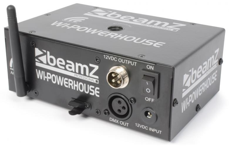 BEAMZ Wi-PowerHouse Battery 2.4GHz DMX -, discoland.fi