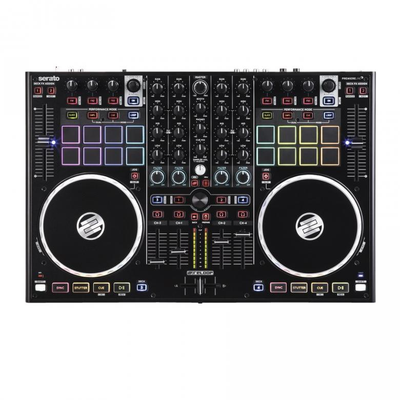 RELOOP DJ-kontrolleri Terminal mix 8 Ser, discoland.fi