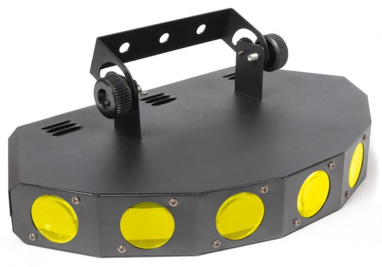 BEAMZ 7-linssinen LED-valoefekti RGBW LE, discoland.fi
