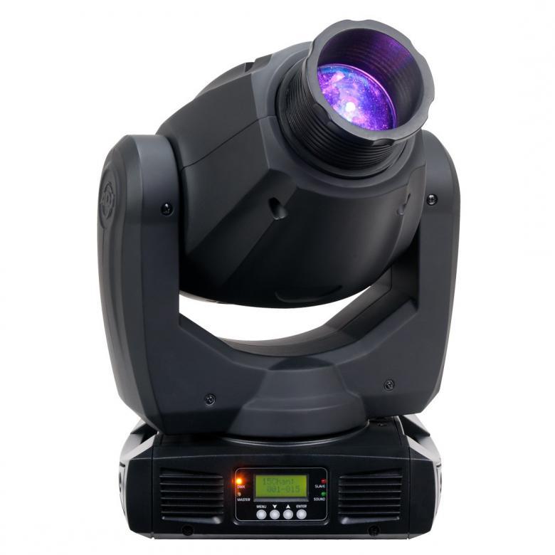 ADJ Inno Spot PRO on Päivitetty Moving Head! ADJ Jatkaa LED 80W teknologian rajojen etsimistä uudella Inno Spot Prollaan, kompakti, älykäs Moving Head jossa kirkas 80W LED valonlähde. Laitteessa on 6 pyörivää, vaihdettavaa goboa, 8+valkoinen väriä, erillisissä gobo- ja väri-kiekoissa. Sen jyrkkä-reunainen säde on samanlainen kuin perinteisissä halogen ja kaasupurkaus valo-efekteissä mutta virrakulutus on kuitenkin murto-osa perinteisestä (140W) ja ilman lamppujen vaihto-hässäkkää (LED palo-aika 50,000 tuntia). Erilliset väri ja gobo-kiekot, prisma, 540° pan / 270° tilt, Mitat (PxLxK): 288 x 167 x 425mm Paino: 8.5 kg