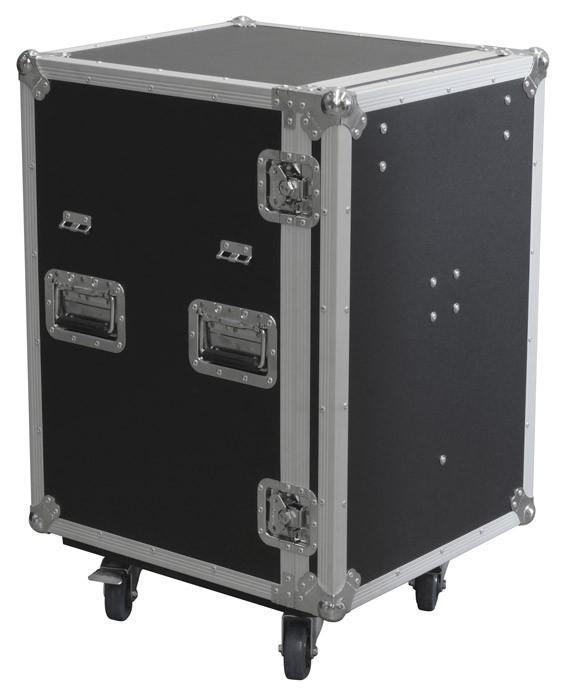 POWERDYNAMICS PD-FA6 5 vetolaatikon ja pöydän siirrettävä työpiste. Iso ja vankka laatikosto kaikkien roudaus-tarpeiden säilöntään. Ei enää asennusmateriaalia, kaapeleita, mikrofoneja jne.. omilla teillään. Laatikko on tehty vankasta laminoidusta vanerista. 5 lokeron laatikosto, taittuvat kantokahvat, perho-lukot ja 3.5