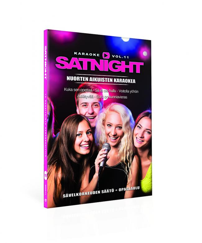 SATURDAYNIGHT Karaoke DVD vol 11 karaoke, discoland.fi
