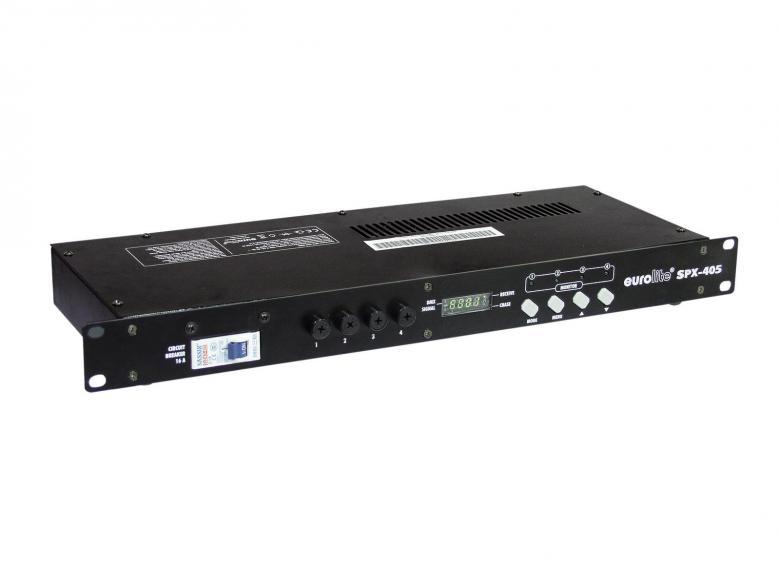 EUROLITE SPX-4 DMX switch pack, katkaisi, discoland.fi