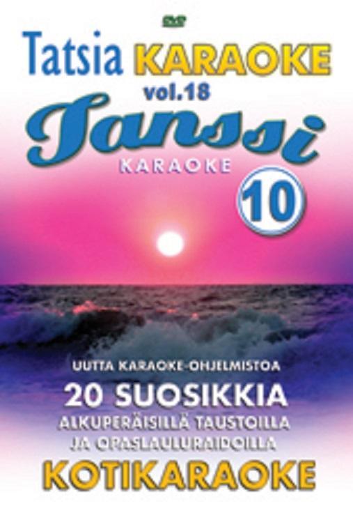 TATSIA Tatsia Kotikaraoke Vol 18 Tanssi , discoland.fi