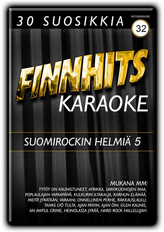 FINNHITS VOL 32-Suomirockin Helmiä 5 DV, discoland.fi