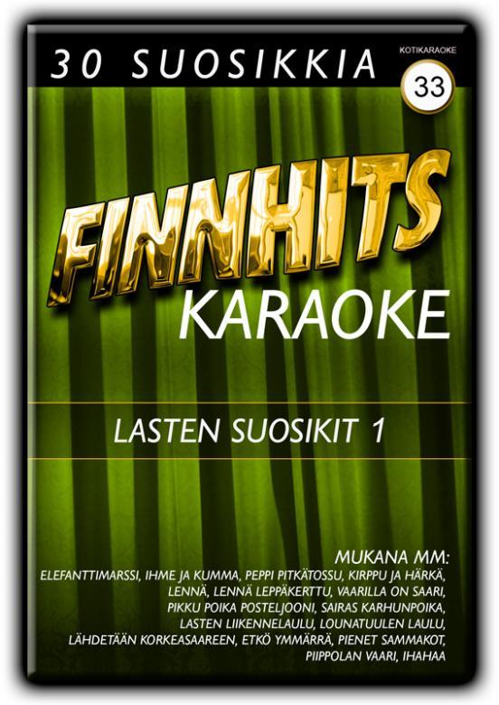 FINNHITS VOL 33-Lasten Suosikit 1 DVD ka, discoland.fi