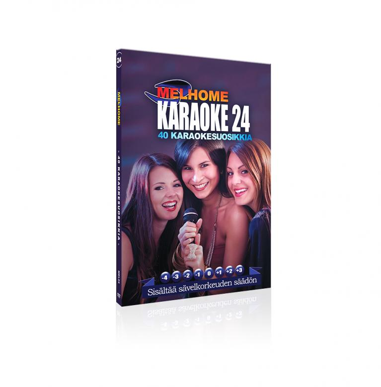 MELHOME Vol 24 karaoke DVD levyll� on 40, discoland.fi