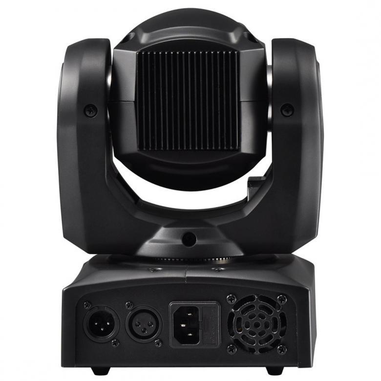 ADJ Inno Pocket Spot LED moving head 12W jatkaa teknologian rajojen etsimistä uudella Inno Pocket Spotillaan, kompakti, älykäs Moving Head jossa kirkas 12W LED valonlähde. Laitteessa on 7 vaihdettavaa goboa, 7+valkoinen väriä, erillisissä gobo- ja väri-kiekoissa. Inno Pocket Spot LED on kevyt ja pieni tehden siitä erittäin hyvän liikuteltavan ja soveltuu minkä tahansa kokoisen viihdyttäjän asennettavaksi. 9 tai 11 DMX-kanavaa, Mitat (PxLxK): 159 x 147 x 265mm, Paino: 3kg