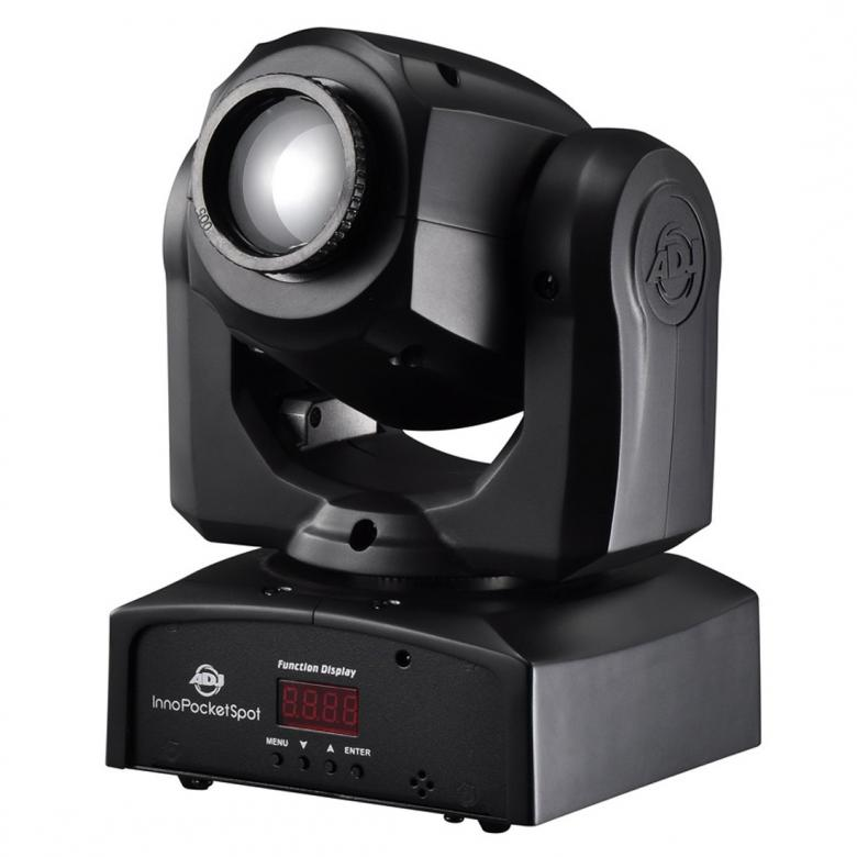ADJ Inno Pocket Spot LED moving head 12W, discoland.fi