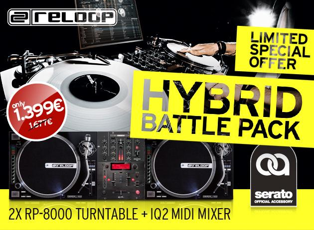 RELOOP Hybrid Battle Pack - 2x RP-8000 M, discoland.fi