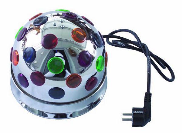 EUROLITE B-10 Half ball Chrome with 2 x , discoland.fi