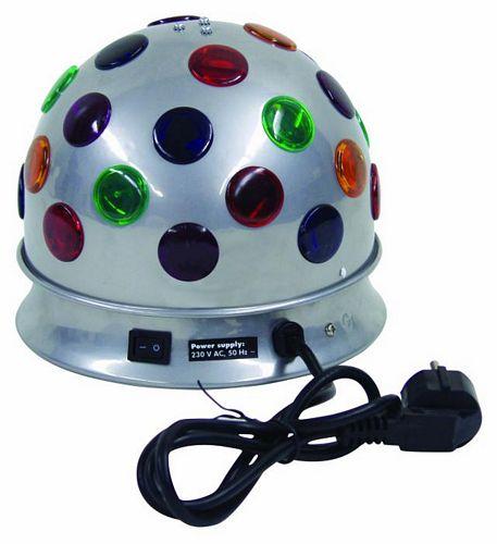 EUROLITE POISTUNUT...TUOTE...B-10 half ball, silver with 2 x 230V/40W. Näyttävä sekä edullinen valoefekti kotiin! Myynnistä poistuva tuote!