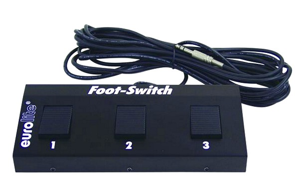 EUROLITE Foot Controller with stereo jac, discoland.fi