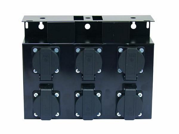 EUROLITE SB-6 Haaroitusrasia metallinen, ilman kaapelia. Steelbox without cable