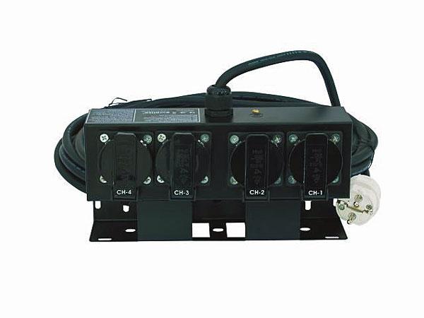 EUROLITE SB-42 Haaroitusrasia metallinen 7,5m kaapelilla ja pistokkeella. Split box 7,5m+ safety plug