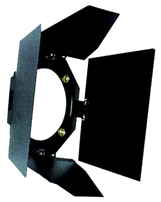 EUROLITE Barn doors, Theatre 2000 black