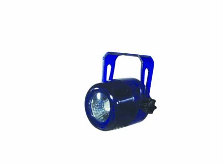 EUROLITE Mini-Spot MR-16 neon-blue 230V for GU-10