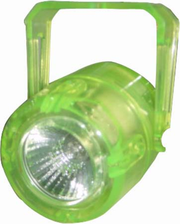 EUROLITE Mini-Spot MR-16 neon-yellow 230, discoland.fi