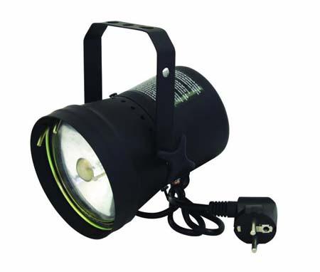 EUROLITE PAR-36 Pinspot lamppu musta pol, discoland.fi