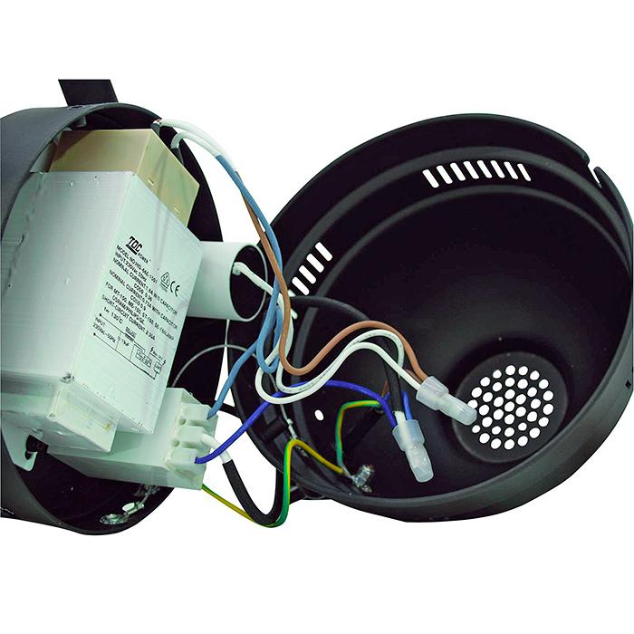 EUROLITE PAR-56 CDM profi spot, with cable, black 150W kaasupurkauslampulle!!!