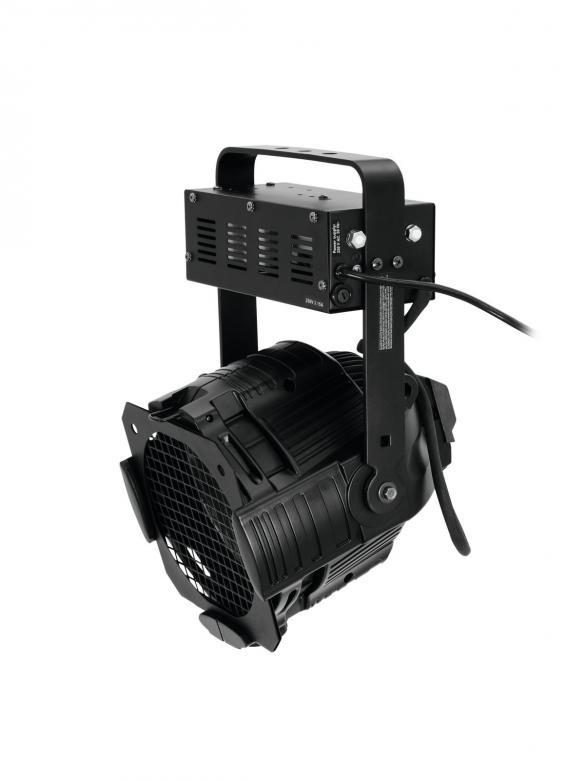 EUROLITE ML-56 ZOOM 12-27° CDM PRO multilinssispotti 150W:n kaasupurkauslampulle. Manuaalinen focus. Teatterikäyttöön ja isoille esiintymislavolle, kuin myös keikkakäyttöön. Katso polttimo osiosta Yhteensopivat tuotteet. Mitat 220 x 280 x 400 mm  sekä paino 7kg.