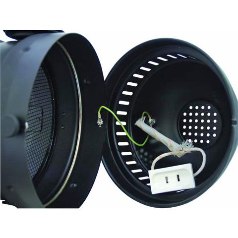 EUROLITE PAR-64 Pro lyhyt spotti, musta,