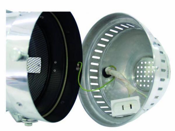 EUROLITE PAR-64 Pro Lattia spotti, Alumiini, Profi floorspot, with cable, alu