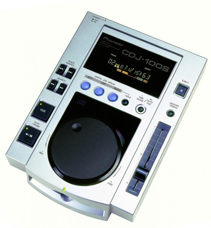 PIONEER CDJ-100S CD soitin DJ, kuntosali, discoland.fi