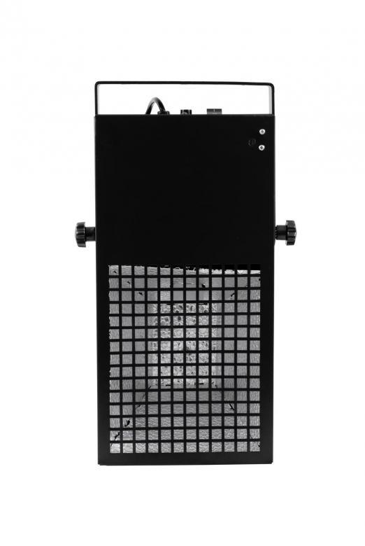 EUROLITE <B>B-Stock</B>Black Floodlight 160W, Valaisinrunko mustavalolle. Jämäkkä runko, joka on tarkoitettu uv polttimolle 160W. Mitat 460 x 150 x 255 mm  ja paino 4.0kg.
