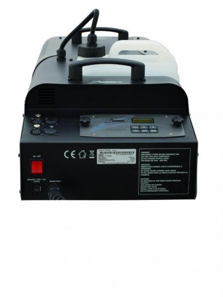 ANTARI Z-3000II Hypertehokas savukone DMX-ohjauksella, jatkuva savun tuotto, savuntuotto jopa 1130m³/min.Huippuluokan savukone 3000W lämmittimellä sekä mahtavalla savunsyötöllä.  Mukana ajastin ohjain sekä DMX interface ohjausta varten. Savun ulostulo jopa 20 metriä! Mitat 735 x 310 x 192 mm sekä paino 20kg.