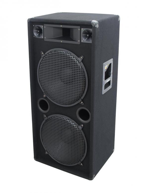 OMNITRONIC DX-2522 3-Tie kaiutin 2x15