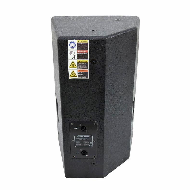 OMNITRONIC PAS-210 MK2 2-tie kaiutin 10