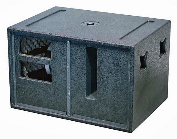 OMNITRONIC PAS-15 Subwoofer 1x 15, RMS 600W/1200W, Max. SPL 124dB