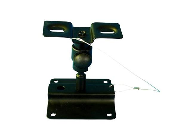 OMNITRONIC Seinäteline kaiuttimille kaksi kappaletta, eli pari. Teline sopii Omnitronic Control 1 monitorille. Tno 6053 sekä 6053W valkoinen. Sopii monelle pienille kaiuttimille. Mitat 105 x 100 x 140 mm sekä paino 400gr.