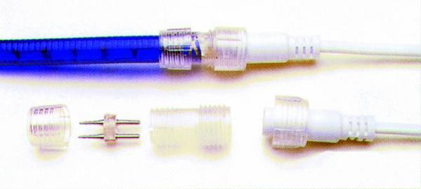 EUROLITE Rubberlight virtajohto  avoimella päällä 1-channel Jack with open wires