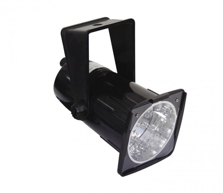 EUROLITE Demo LED strobe-spot white LED's. Hieno Disco led strobo, pitkäikäiset, valkoiset ledit sekä musiikkiohjaus