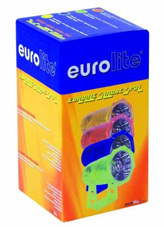 EUROLITE strobe-spot neon-green, discoland.fi