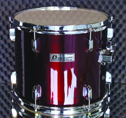 DIMAVERY Drum-Set DS-205 5pcs. red. Rump, discoland.fi