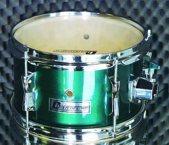 DIMAVERY Bassdrumset DSLB-304 green