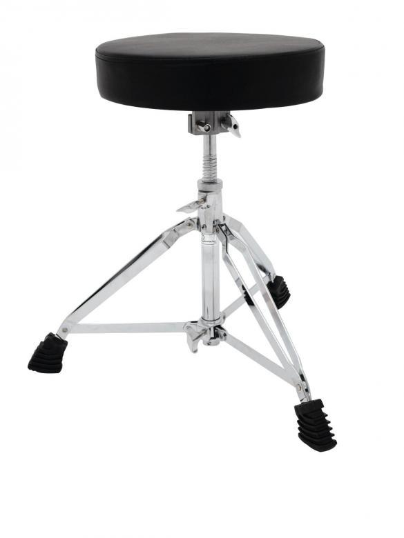 DIMAVERY DT-80 Rumpujakkara, rumpupenkki, joka on säädettävissä korkeussuuntaan. Drum Throne rumpujakkara DT-80 Excellence.