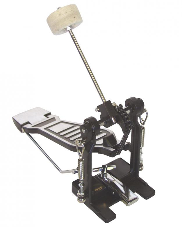 DIMAVERY DFM-300 Rumpupedaali paino 1,2kg Popular pedal. Peruspedaali rumpusetteihin